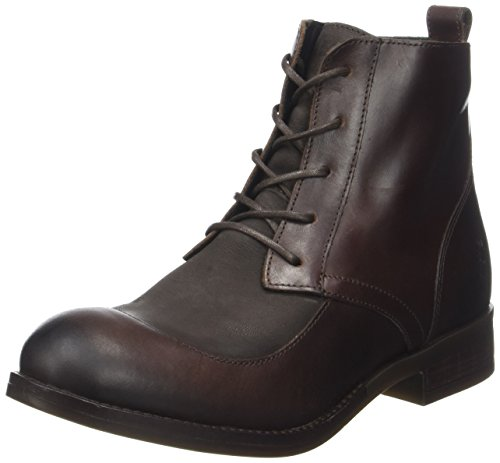 Stiefel Brown Up Lace Womens (FLY London Damen Arty077fly Stiefel, Braun (Dk. Brown/Chocolate), 37 EU)