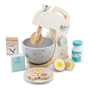 New Classic Toys 10707 - Juego de mezcladores para Cocina y Alimentos, Color Blanco