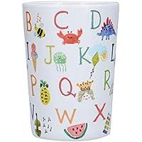 Creative Tops C000577 - Vaso infantil (melamina, diseño de alfabeto)