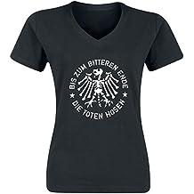 Die Toten Hosen Bis zum bitteren Ende Girl-Shirt schwarz