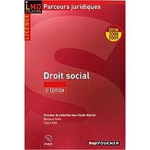 Droit social (Ancienne Edition)