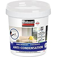 Rubson 1543354 - Pintura antihumedad para paredes interiores, bote de plástico, color blanco, 0,75 L