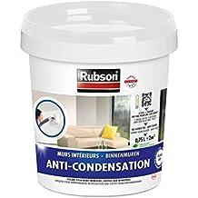 Rubson 1543354 - Pintura antihumedad (para paredes interiores, bote de plástico, 0,75 L), color blanco