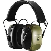 Mpow orejeras, Mpow Elektronik Protección auditiva, NRR 27db Cancelación de Ruido Protección auditiva,