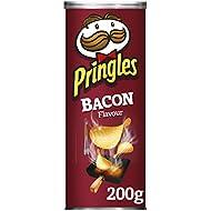 Pringles Smokey Bacon Crisps, 200 g