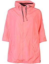 Lee Cooper Cooper Festival Mac chaqueta para mujer rosa chaqueta abrigos Outerwear, rosa, UK 8 (XSmall)