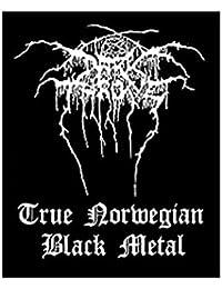 Écusson norweigan darkthrone-true black metal-darkthrone patch-tissé & licence!