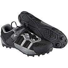 Zapatillas de Ciclismo para Pedales SPD de Bicicleta de Montaña MTB y Trekking Talla 42 3715