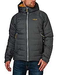 RAB MENS VALIANCE JACKET STEEL/DIJON (SMALL)