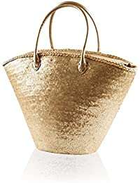5745d62483 femmes south beach Basket fourre-tout bandoulière femmes paille Vacances Sac  shopping