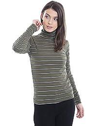92017fc72df Baliza - Camiseta de Manga Larga - Rayas - Cuello de Polo - Manga Larga -