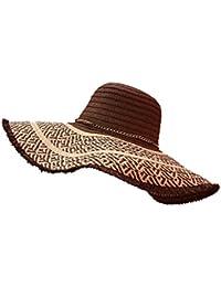 Sombrero para el sol LHA Sombrero de Playa Sombrero de Playa Femenino de  Verano Sombrero Sombrero Protector Solar Versión Coreana Borla… a6f3b6b715f0