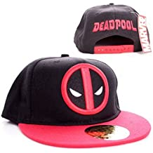 Marvel Comics Deadpool hombres del casquillo del snapback - logotipo clásico de béisbol ...