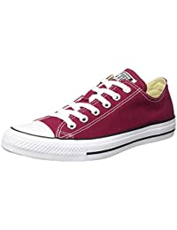 Converse Chuck Tailor All Star Zapatillas de lona, Unisex, Rojo (Bordeaux), 48 EU