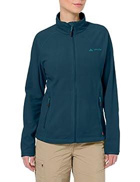 Vaude Women's Smaland Hooded Jacket, Chaqueta De Esquí Para Mujer, Turquesa (Dark Petrol), 36 (Talla Del Fabricante...