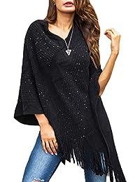 Suchergebnis Auf Amazonde Für Schwarzer Pullover Mit Fransen