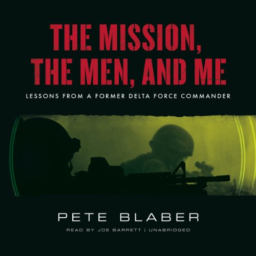 The Mission, the Men, and Me  Audiolibri