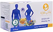 Al Malaky's All Natural Fitness Tea – Pack of 20 Bags   Herbal Tea for Weight Loss, Improved Blood Flow, and E
