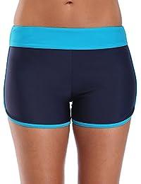 Attraco Damen Schwimmen Badehose Badeshorts Schwimmshorts Hotpants  Wassersport UV-Schutz e2e6e26645
