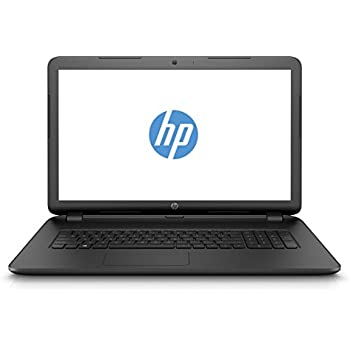 HP 17-y020ng (W6Y02EA) 43,9 cm (17,3 Zoll HD+) Laptop (AMD Quad-Core A8-7410 APU, 8 GB RAM, 1 TB SSHD, AMD Radeon R7 M440, FreeDOS) schwarz(Qwertz Tastatur)