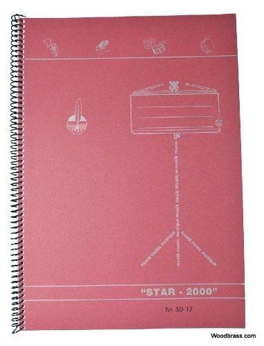 STAR CAHIER MUSIQUE - SPIRALES 12 PORTÉES - 48 PAGES Musikbücher, Notenpapier, Dvds.. Musikheft