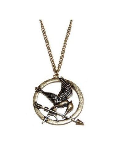 Logo de Los juegos del hambre - Neca - broche de la joyería, collar, pendientes
