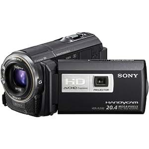 Sony HDRPJ580V Caméscopes à mémoire Flash avec projecteur intégré Port SD/Memory Stick Full HD 20,4 Mpix Zoom optique 12x GPS intégré Noir