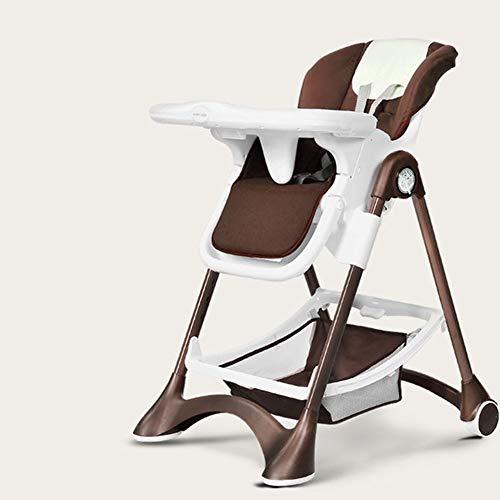 Mr.LQ Baby Esszimmerstuhl Baby Stuhl Kinder Essen Esstisch Stuhl Multifunktionale Kinder Esszimmerstuhl Faltbar - Leder Back Spiel-stuhl