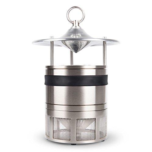 NN-keyboard WZSS Kohlendioxid Moskito Lampe Schlafzimmer zu Hause leise Moskito Mückenschutzmittel (Silber + schwarzen Gürtel) -