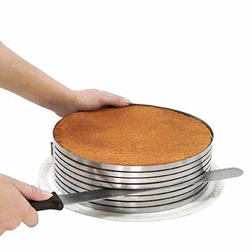 Anello taglia torta affetta torte in 8 strati regolabile da