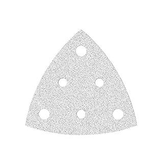 50 MioTools Klett-Schleifblätter für Deltaschleifer 82 mm - Korn 400-6-Loch