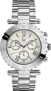 Gc - I29002L1 - Montre Homme - Quartz - Chronographe - Aiguilles lumineuses/Chronomètre - Bracelet Cuir Marron