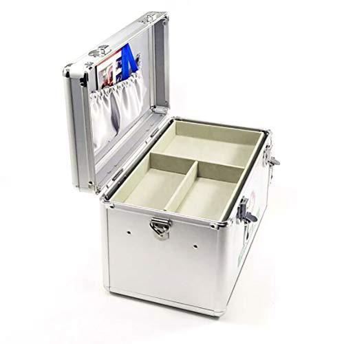 SMEI Abschließbare Erste-hilfe-box Security Lock Medizin Lagerung Mit Tragbaren Griff Fächer Medikamente Kleine Schrank Medium -