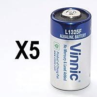 Vinnic Alkali Batterie (6V) für Hund Erziehungshalsband / AntiBell Sprayhalsband (Packung mit 5)