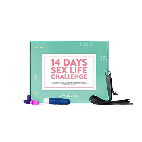 Geschenkbox für Paare - 14 Days of Sexlife Challenge inkl. Sextoys und erotischer Accessoires AMORELIE