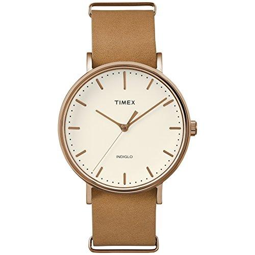 Timex Montre Bracelet Mixte à Quartz Analogique Nylon tw2p91200