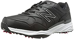 New Balance Mens NBG1701 Golf Shoe, Black, 10 D US