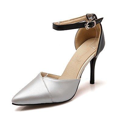 Zormey Sandalen Sommer Club Schuhe D'Orsay & Amp Zweiteilige Kunstleder Hochzeit Party & Amp Abendkleid Stiletto Heel Schnalle US5.5 / EU36 / UK3.5 / CN35