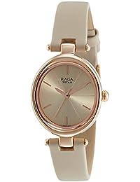 Titan Raga Viva Analog Rose Gold Dial Women's Watch-NL2579WL01