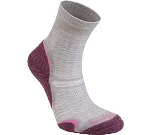 Womens Woolfusion Trail Ultra Light Sock - Aubergine Medium / Purple