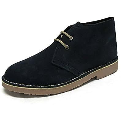 Roamers - Bottines en daim - Desert Boots - bleu marine - UK7/EU41