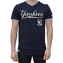 A NEW ERA Era Ne96423Fa16 MLB Ringer tee Neyyan Camiseta Manga Corta-Línea  York Yankees 35bfa1ea5f7