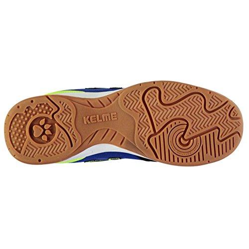 Sapatos De Kelme Preto K Salão Quadra Cal Fortes Calçados Chuteiras Azul Esportivos Homens Coberta 8Sxgppq
