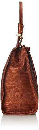 Foley + Corinna Dione Messenger Femmes Crocodile Sac porté main Cognac Croc