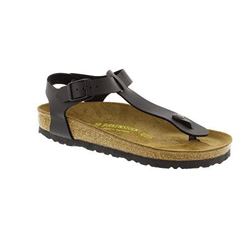 Birkenstock Kairo Regular Fit - Black 0047791 43 EU (Aus Schwarzem Wildleder Birkenstock-sandalen)