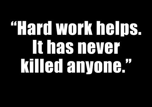 511–A4Motivationsarbeit Quotes–insperational Arbeit–Sprüche–Famous People–Motivation Arbeiten Zitate–Poster Druck Bild