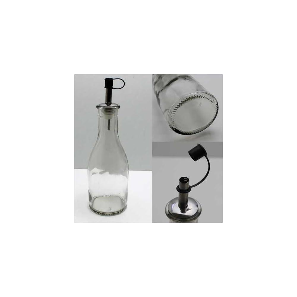 Essig Lflasche 250ml Glas Mit Ausgieer Essig L Flasche Portionierer Spender Lhs