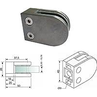 Pmc Zinc fundido Zinc ROH V2A para tubo de 42,4mm Pinza de soporte para cristal Glass Clamp Mod: 0