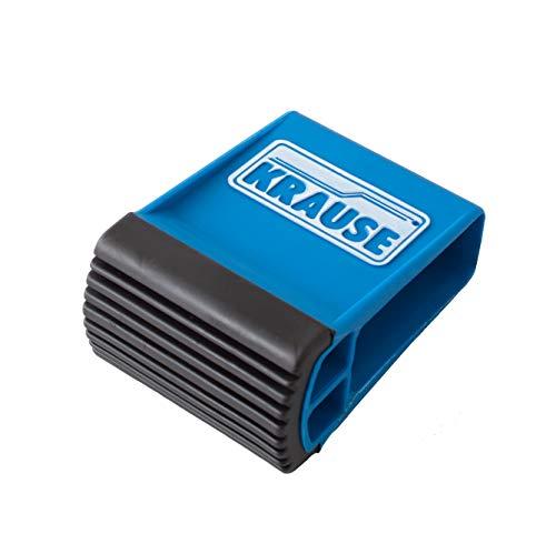 Unbekannt-Krause Traversenfußkappe blau 64x 25mm