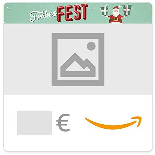 Digitaler Amazon.de Gutschein mit eigenem Foto oder Video (Frohes Fest) Pro-digital Foto Video